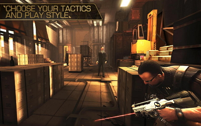 Download Game Deus Ex The Fall APK DATA Unlimited Money