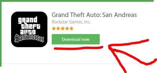 یاری بهناوبانگ (جی تی ئهی) بۆ ئهندرۆید  GTA : San Andreas For Android