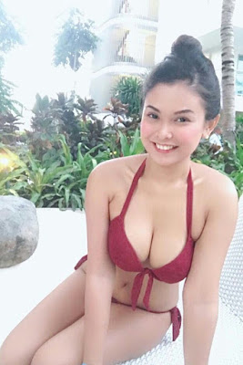 Hot and sexy photos of beautiful busty asian hottie chick freelance model Apol Salangad photo highlights on Pinays Finest Sexy Photo Collection site.