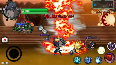 Download Naruto Senki MOD Ninja Revolution Full Character Terbuka Semua Unlimited Coin Skill No Delay Apk Game Terbaru