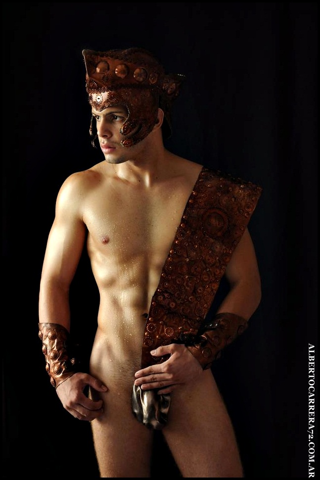 Naked greek gladiators — photo 4