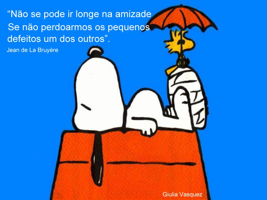 Imagens E Frases Bonitas O Mundo De Snoopy