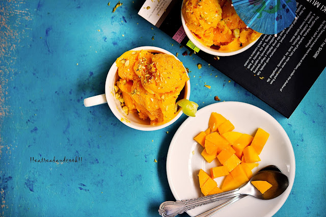 how to make Mango Sorbet recipe and preparation