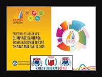 Panduan Pelaksanaan O2SN SMA Terbaru TAhun 2018/2019