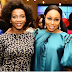 Stunning photo of Genevieve Nnaji and Rita Dominic