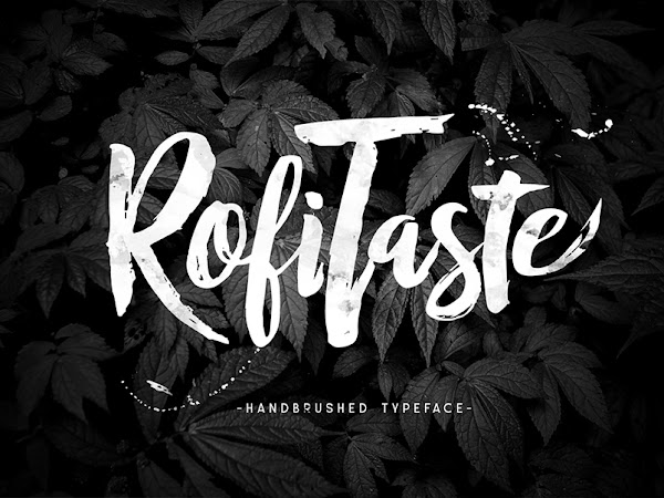 RofiTaste Script Brush Font Free Download