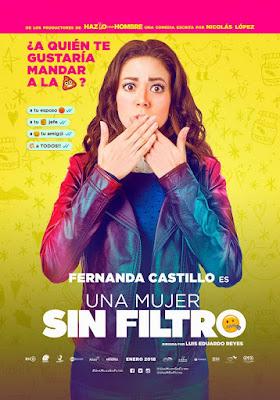 Una Mujer Sin Filtro 2018 HDTS NTSC Latino Cam