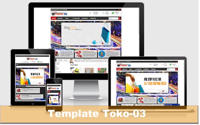Template Toko Online Blogspot Template Toko-03