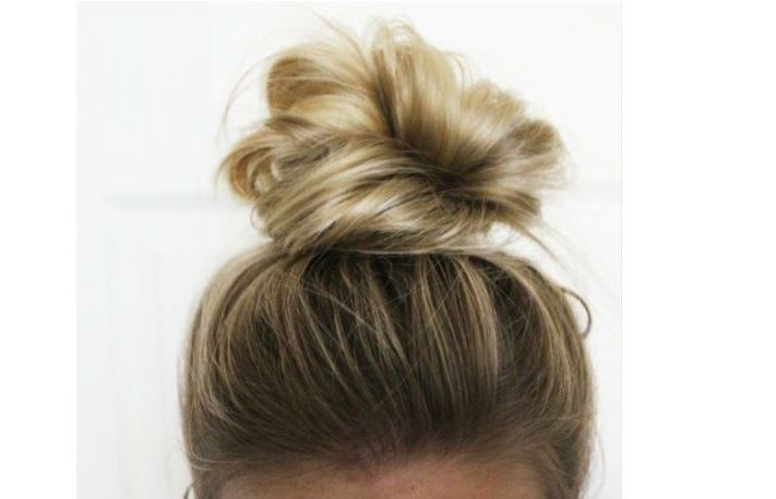 top knot trick