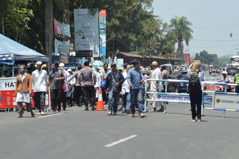 Aksi Bela Rohingya Magelang Borobudur