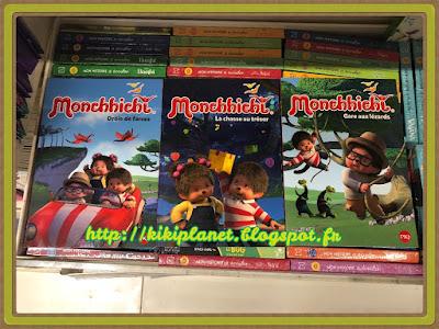 la tribu monchhichi, kiki, vintage, livre enfants