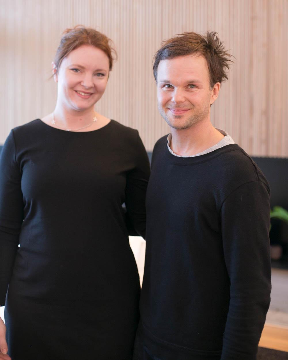 Lauri Ylönen ja bloggaaja itse