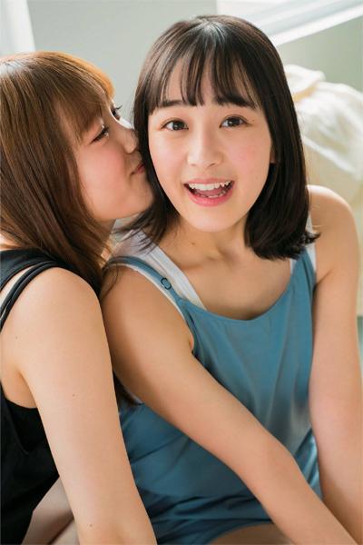 Minami Hoshino 星野みなみ, Hazuki Mukai 向井葉月, ENTAME 2019.03 (月刊エンタメ 2019年3月号)