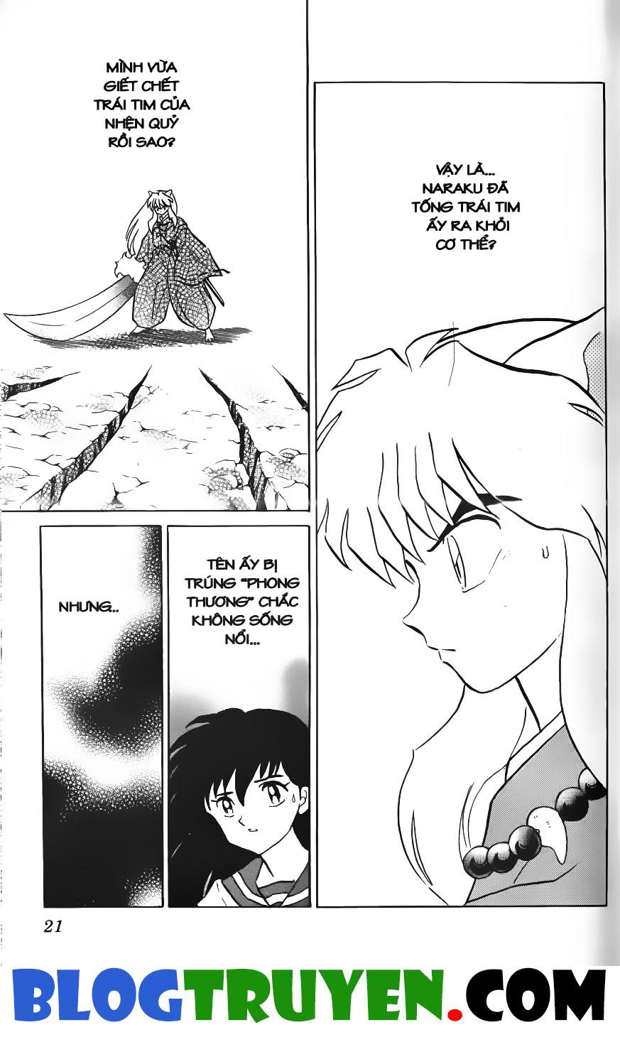 Inuyasha vol 22.1 trang 19