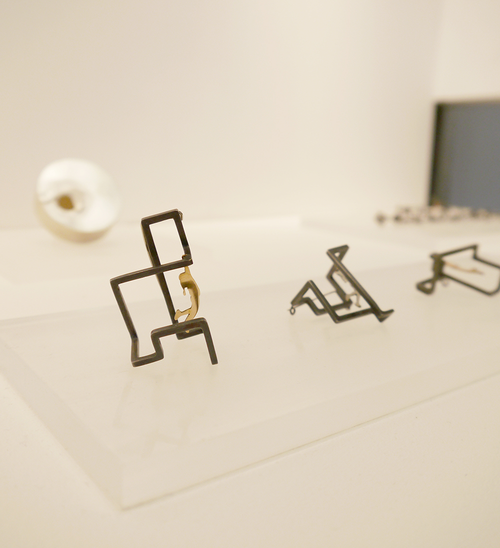ECA, Edinburgh College of Art, ECA Degree Show, Edinburgh College of Art Degree Show, 2017 degree show, Eunsung Kim, jewellery and silversmithing, maze jewellery, figurative jewellery, silver jewellery