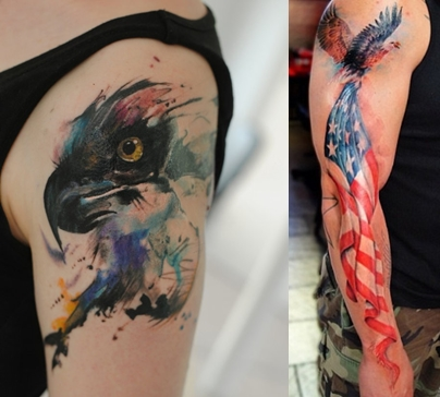 Best Watercolor Tattoo For Men