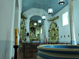 Pia Batismal da Igreja de Santo Amaro, General Câmara