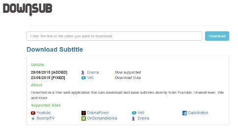 Come scaricare i sottotitoli da YouTube con Downsub