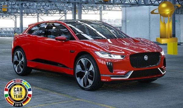 El Jaguar I-Pace es el Auto del Año 2019