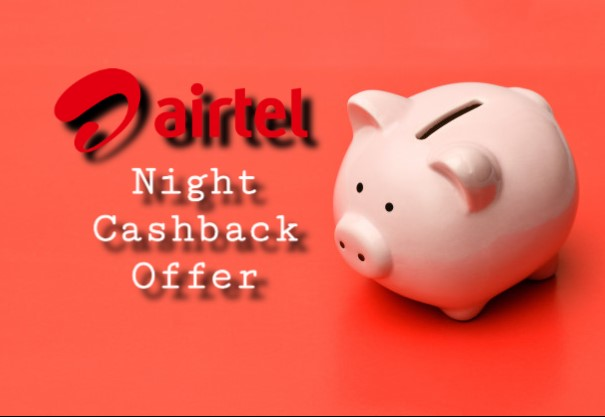 Airtel Night Cashback Ussd Code - Get 50% Data Back