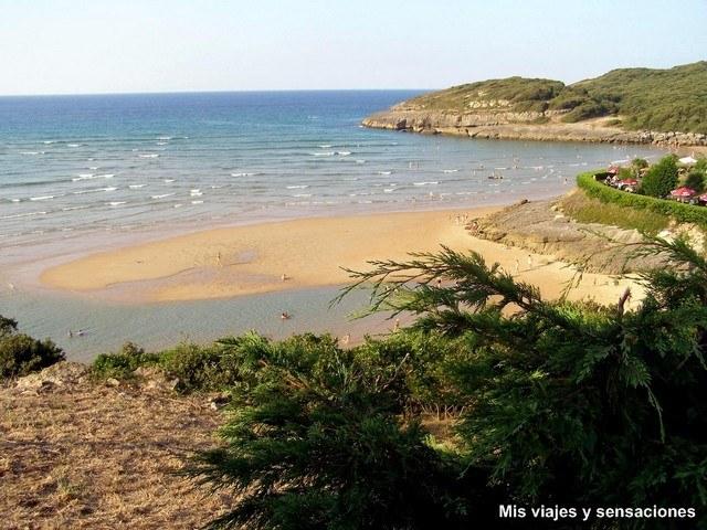 Playa de la arena, Isla, Cantabria