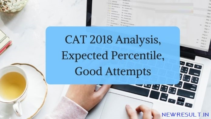 ENDEAVOR CAREERS RELEASES CAT 2018 ANALYSIS. EXPECTED PERCENTILE. GOOD ATTEMPTS - Newresult News