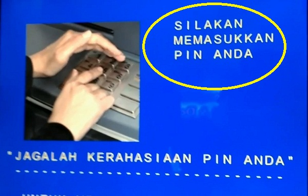 Tarik Tunai Lewat ATM BCA: Langkah Kedua