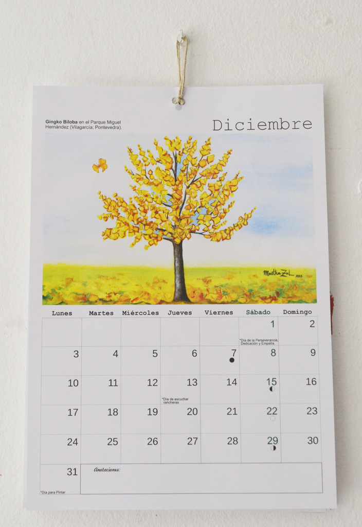 Besos de Árbol: Calendario 2018 de Besos de Árbol