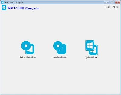 Screenshot WinToHDD Enterprise 2.8 Full Version