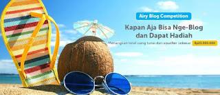 Airy room, lomba blog update, lomba blog terbaru, penginapan murah