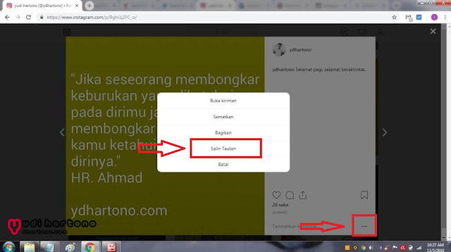Cara Download Foto di Instagram dengan Android atau PC