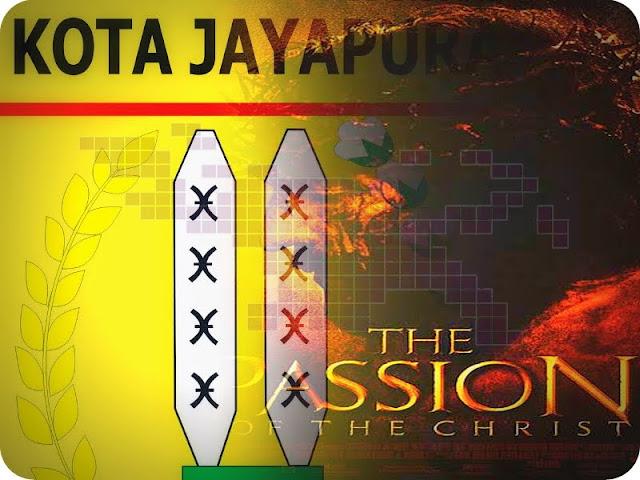 Peringati Paskah, Warga Kota Jayapura Putar Film 'The Passion'