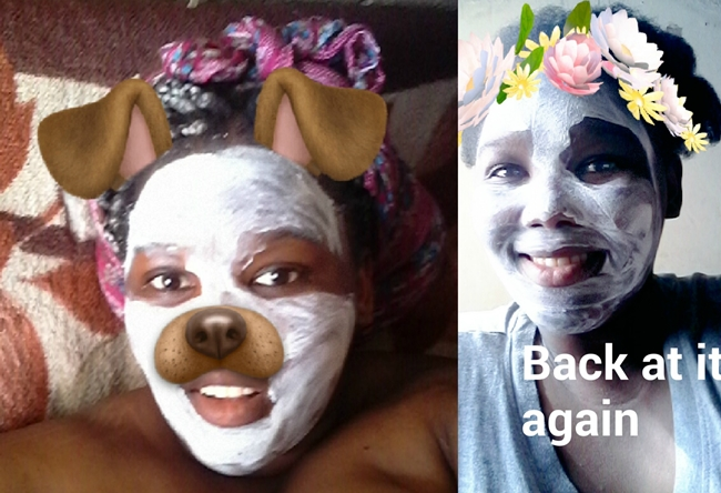 garnier 3 in 1 face mask, garnier pure active south african review, south african beauty blogger, claymask review,