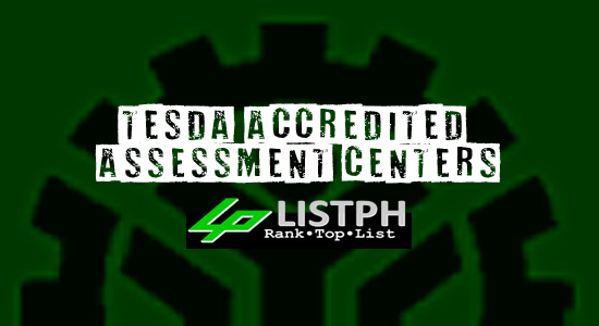 List of TESDA Accredited Assessment Centers - Rizal