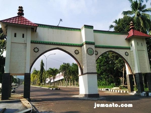 gerbang masuk islamic center tanggamus