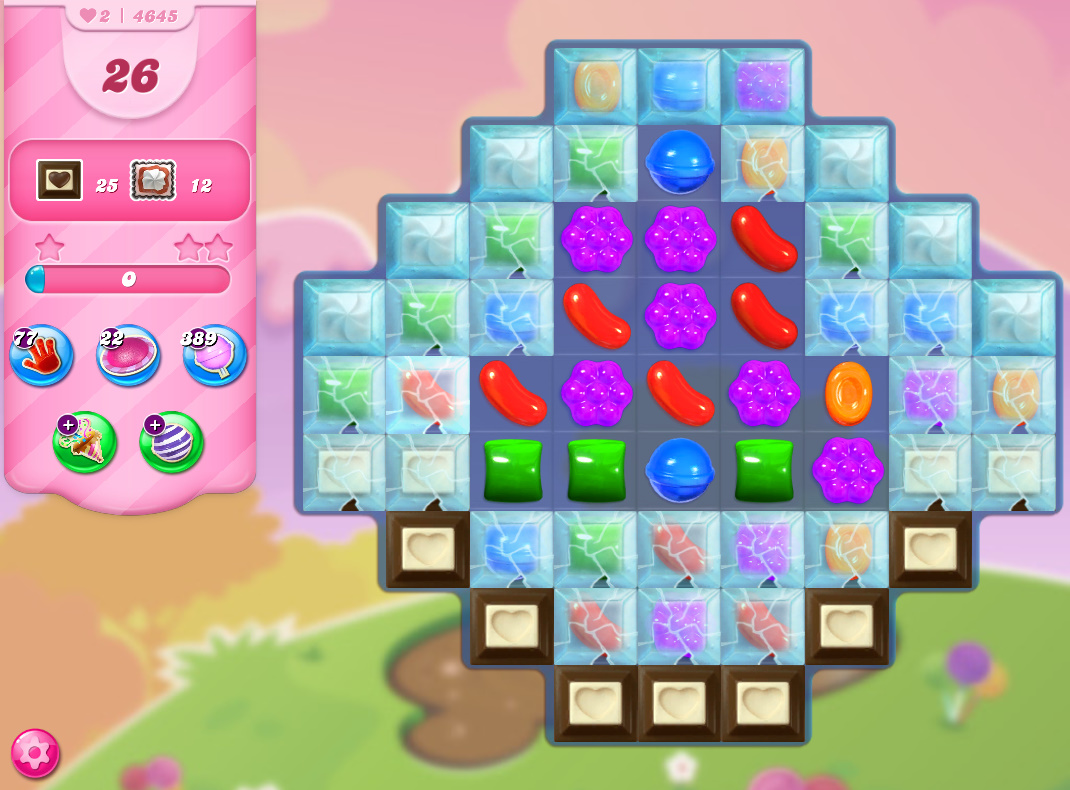 Candy Crush Saga level 4645