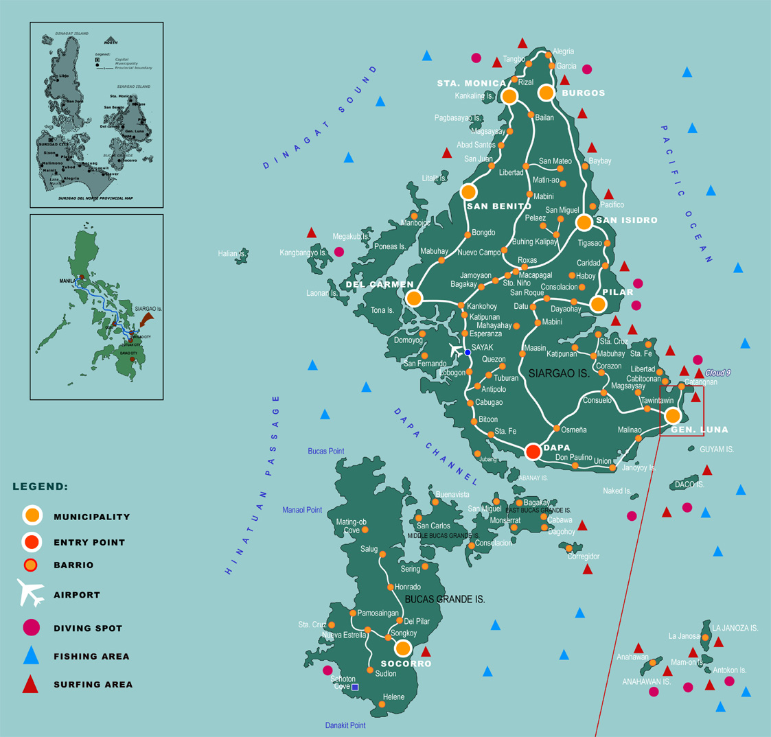 Siargao Map