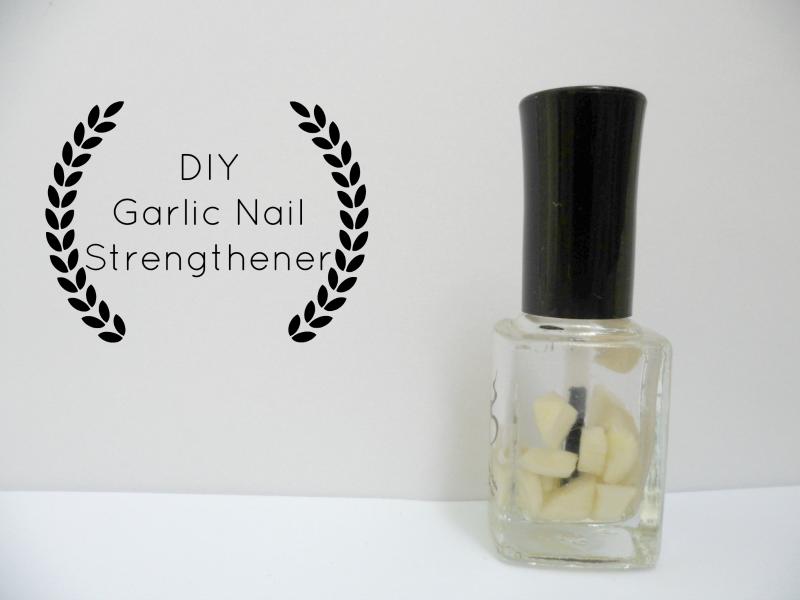 DIY: Garlic Nail Strengthener
