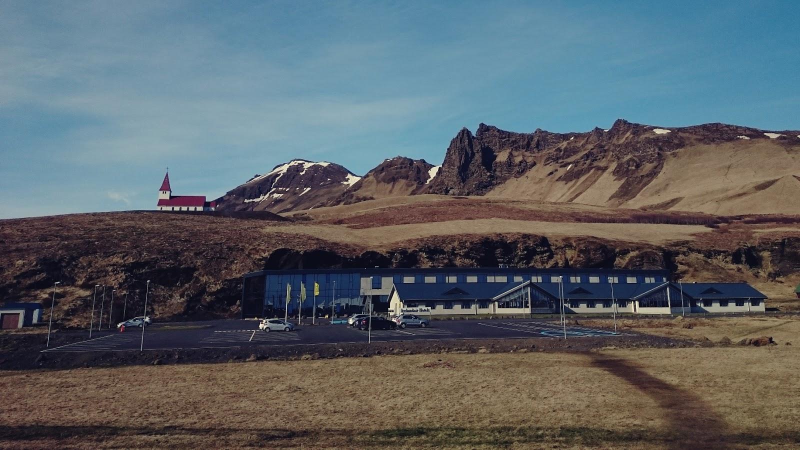 miasteczko Vik, krajobraz Islandii, Islandia