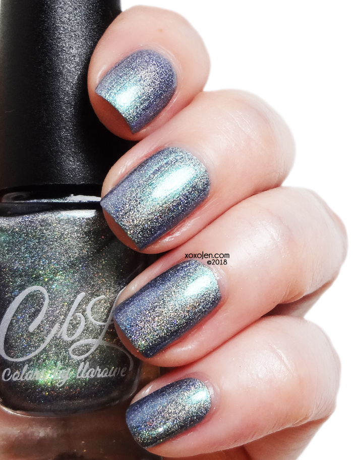 xoxoJen's swatch of Colors By Llarowe: 24k Magic