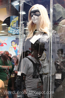 Black Canary Costume display - San Diego Comic Con 2015.