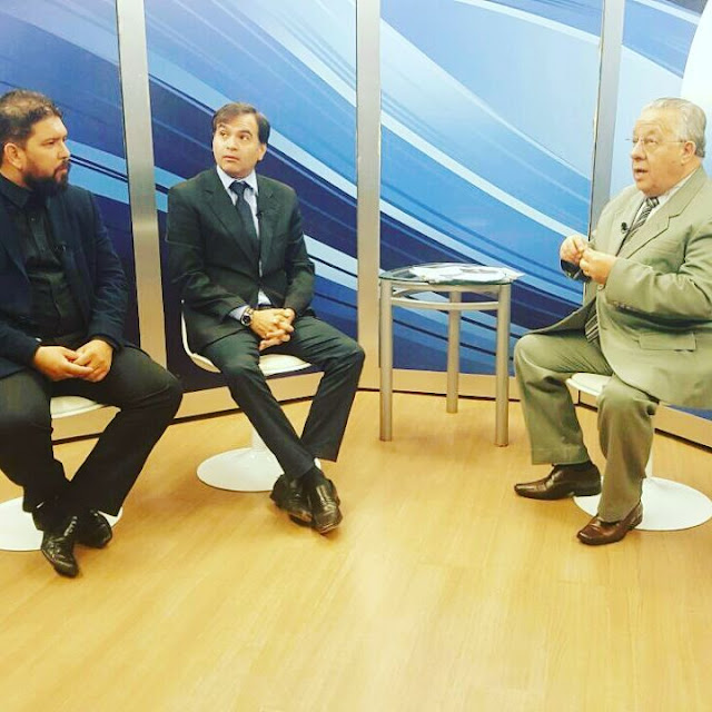 Foto: TV Genêsis - Diário do Poder - Hamilton Silva