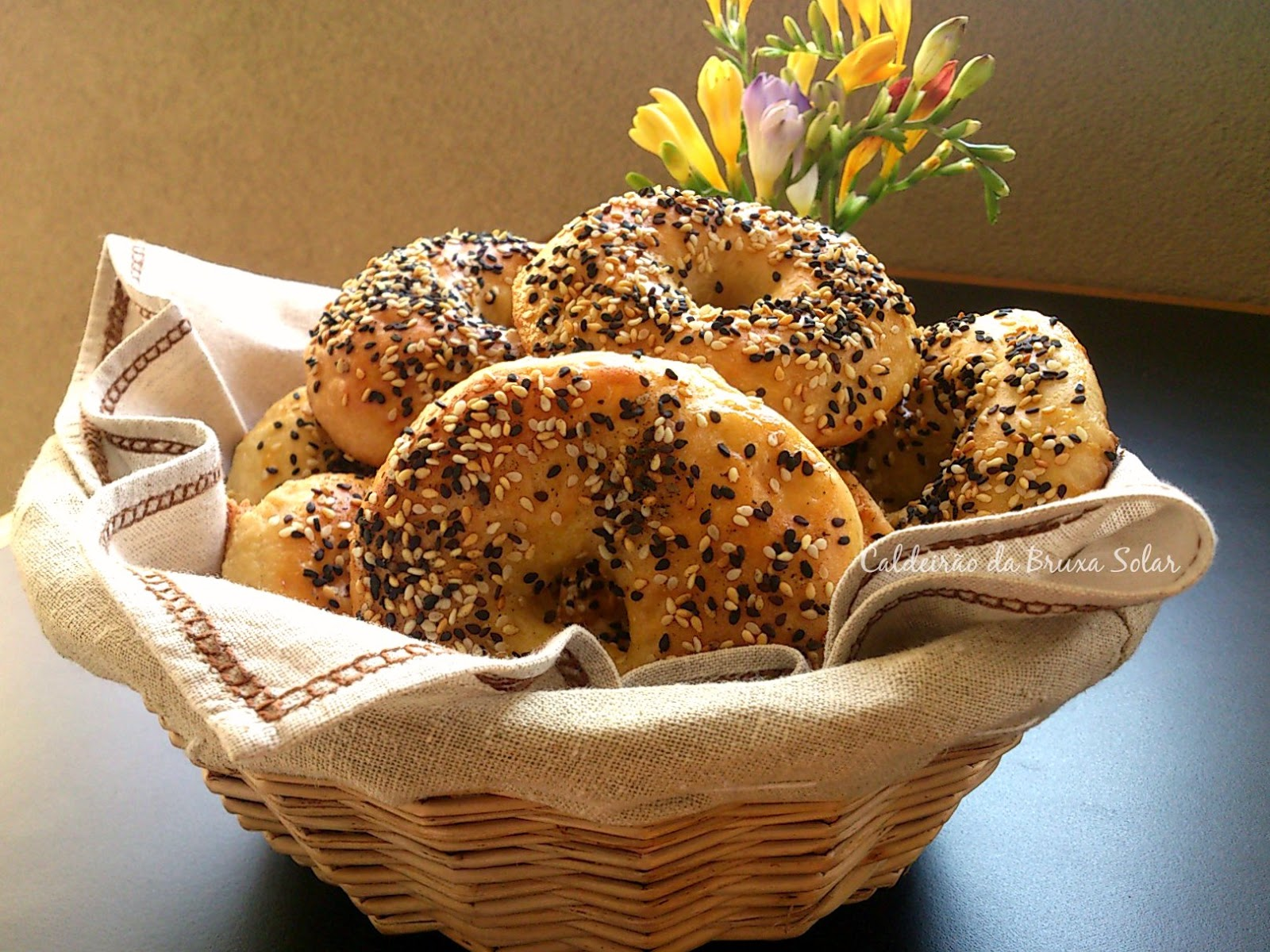 Bagels para o #WorldBreadDay2014