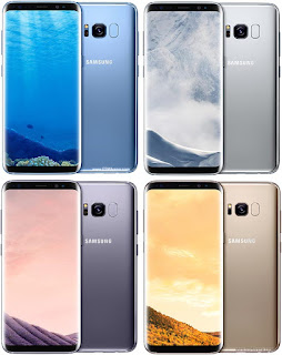 Pilihan warna Galaxy S8
