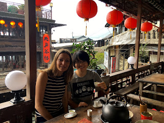 Maison de thé, Ville de Jiufen, Taiwan