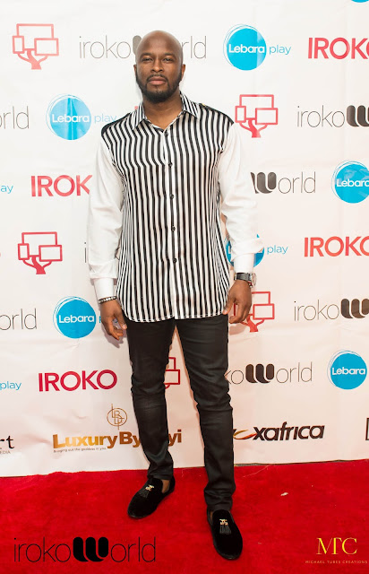 Maze Contour at An Evening with Funke Akindele