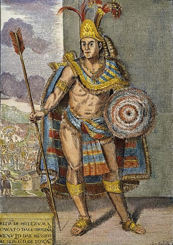 Epic World History Moctezuma Ii Aztec Emperor