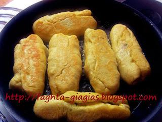 Ποντιακά πιροσκί (περεσκία) με πατάτα ή Πισία - από «Τα φαγητά της γιαγιάς»
