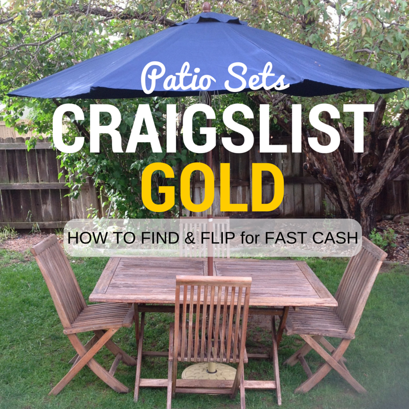 Mimiberry Creations Craigslist GoldHow To Find Flip Patio Sets - Picnic table for sale craigslist