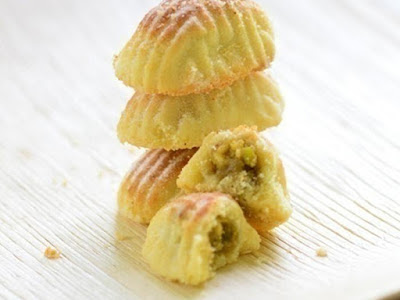 Mamoul With Pistachio Filling